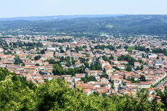 Mazamet (France), panoramic view Royalty Free Stock Image