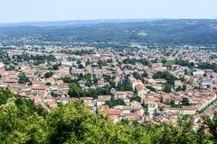 Mazamet (France), panoramic view Royalty Free Stock Image