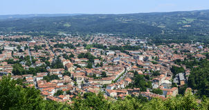 Mazamet (France), panoramic view Royalty Free Stock Photography