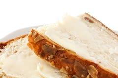 Mazanec oder Brot und Butter lizenzfreie stockfotos