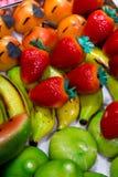 Mazapán de los dulces Foto de archivo libre de regalías