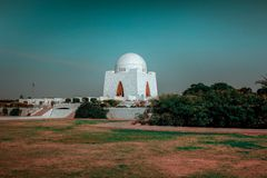 Mazar-e-quaid, Mahomet - Ali Jinnah, Karachi Pakistan obrazy royalty free