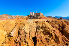 Mazarron Murcia old mine in Spain Royalty Free Stock Image