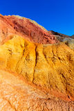 Mazarron Murcia old mine in Spain Stock Photography