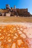 Mazarron Murcia stara kopalnia w Hiszpania Zdjęcie Stock