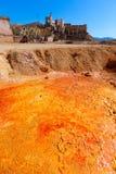 Mazarron Murcia stara kopalnia w Hiszpania Zdjęcie Royalty Free