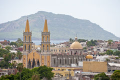 mazatlan的城市 库存照片