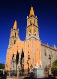 Mazatlan cathedral. Cathedral of the city of mazatlan, sinaloa, mexico Royalty Free Stock Photo