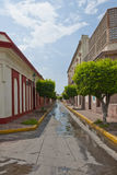 Mazatlan city alleyway Stock Photo