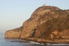 Mazatlan Lighthouse. Standing 515 feet above sea level is the tallest working lighthouse in the world Royalty Free Stock Images