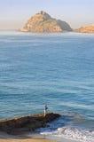 mazatlan mexico för tidig fiskehand morgon Arkivbild