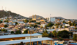 Mazatlan Mexico. Scene above the city streets and buildings in Mazatlan, Mexico Royalty Free Stock Images