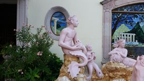 Mazatlan skulpturer royaltyfria foton