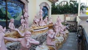Mazatlan skulpturer arkivfoton