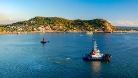 Mazatlan Tugboat Royalty Free Stock Photography
