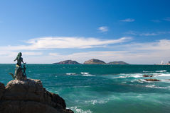 Mazatlans-Meerjungfrau ist die Königin der Meere Lizenzfreie Stockbilder