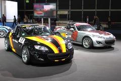 Mazda跑车 免版税库存图片
