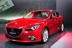 Mazda 3 на IAA 2013 стоковое изображение rf