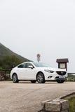 Mazda6交谊厅日本模型 免版税库存图片