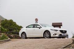 Mazda6交谊厅日本模型 免版税库存照片