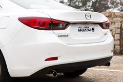 Mazda6交谊厅日本模型 库存照片