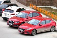 3 Mazda Στοκ Εικόνα