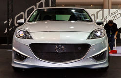 Mazda 3 Thrilling-4 Concept Stock Images
