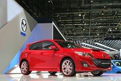 Mazda 3 WARTUNGSTAFELN Lizenzfreie Stockfotografie