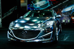 Mazda 3. Royalty-vrije Stock Afbeeldingen