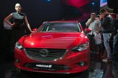 Mazda 6 - world premiere Stock Photos