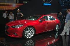 Mazda 6 - world premiere Royalty Free Stock Photos