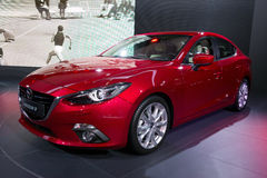 Mazda3 Royaltyfri Fotografi