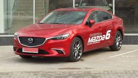 Mazda 6 Images libres de droits