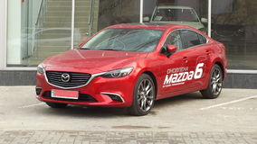 Mazda 6 Photographie stock