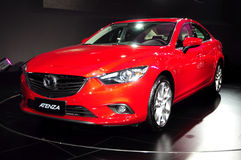 Mazda ATENZA saloon car Stock Photos