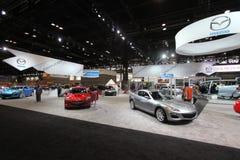 Mazda-Ausstellung Lizenzfreie Stockfotografie