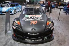 Mazda-Ausstellung Lizenzfreie Stockfotos