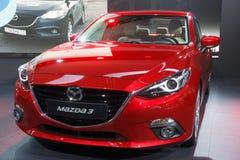 Mazda3 auto Royalty-vrije Stock Fotografie