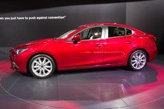 Mazda3 auto Royalty-vrije Stock Afbeelding