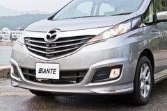 Mazda BIANTE 2013 Modelmpv Stock Foto's
