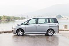 Mazda BIANTE 2013 Modelmpv Royalty-vrije Stock Afbeelding