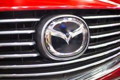 Mazda bil Fotografering för Bildbyråer