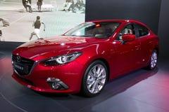 Mazda 3 bil Arkivbilder