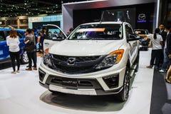 Mazda BT-50 car shows Stock Photo