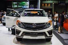 Mazda BT-50 car shows Royalty Free Stock Photography