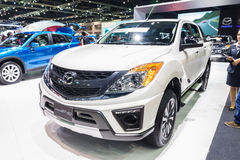 Mazda BT-50 on display Stock Images
