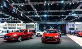 Mazda budka przy Tajlandia zawody międzynarodowi silnika expo 2016 Zdjęcie Stock