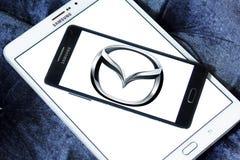 Mazda car logo Stock Image