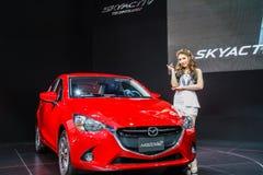Mazda 2 car shows Royalty Free Stock Photo