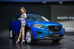 Mazda CX-5 Skyactiv on display royalty free stock photo
